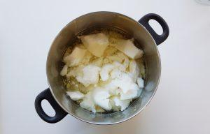 Plantaardige olie voor het maken van zeep