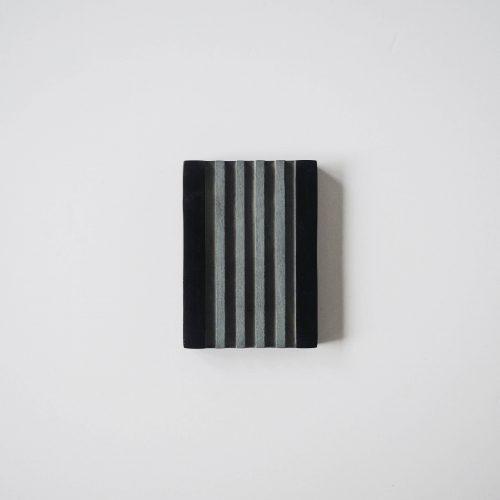 zeephouder speksteen zwart