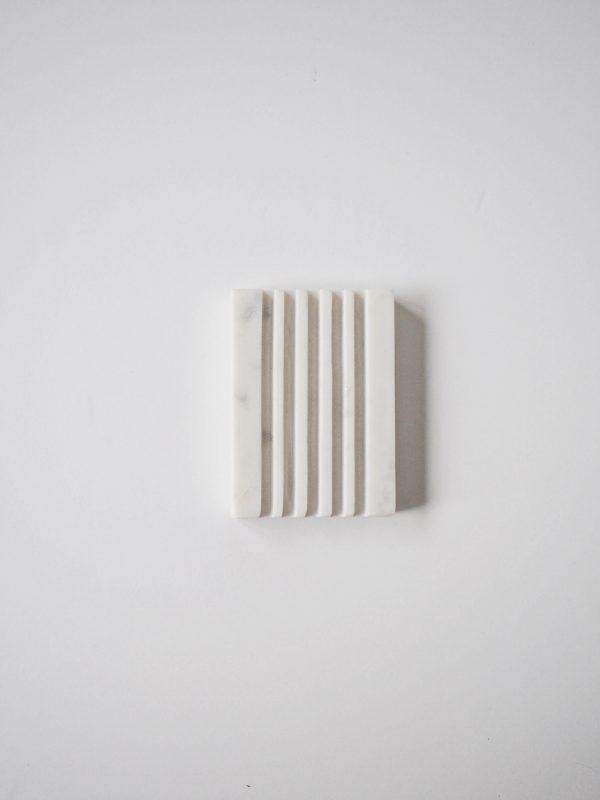 zeepschaaltje wit marmer