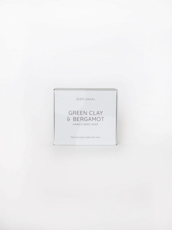 Zeep Zeeplokaal Groene klei bergamot