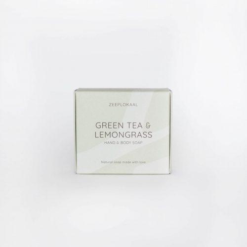 Zeep Zeeplokaal groene thee citroengras