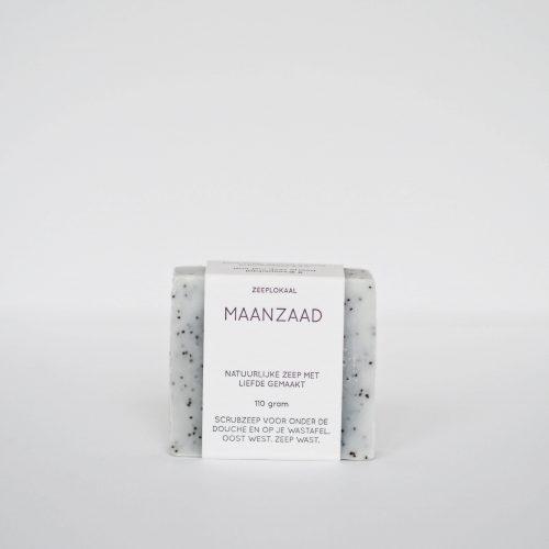 maanzaad scrub natuurlijke zeep