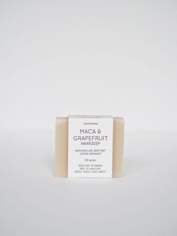 maca grapefruit natuurlijke zeep