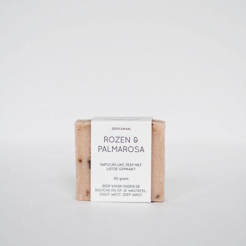 rozen palmarosa natuurlijke zeep