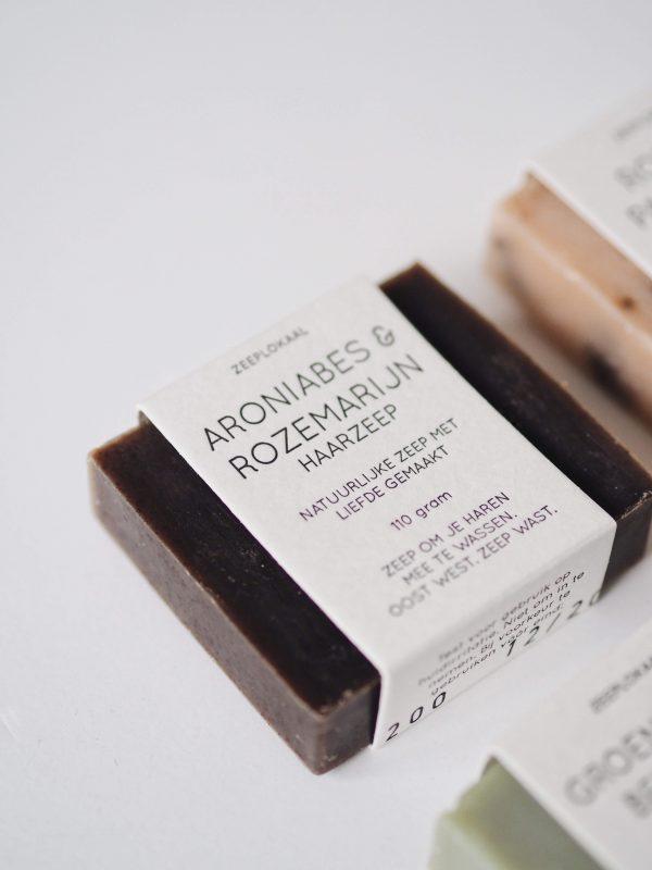 Aroniabes rozemarijn haarzeep