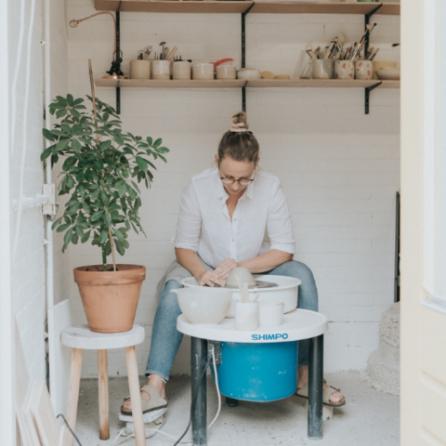 Robin van Studio Bloei Keramiek Atelier