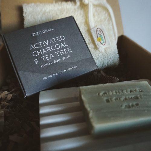 Cadeauset zepen Zeeplokaal giftbox giftset duurzaam