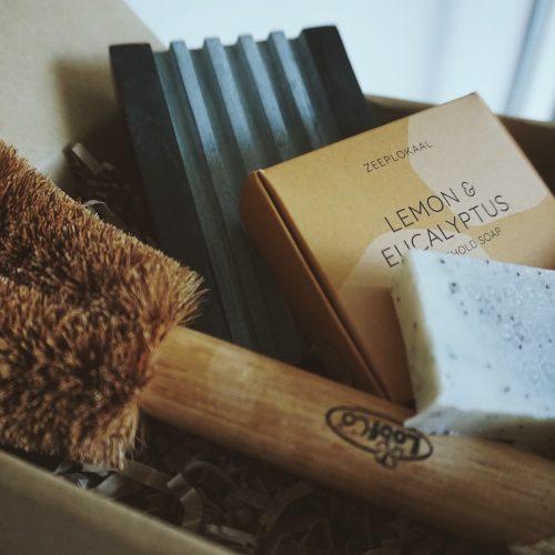 Geschenkset zepen Zeeplokaal cadeauset giftbox